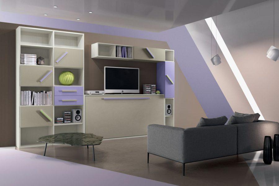 Arredamento per la zona giorno: soggiorni moderni - S.Martino Mobili